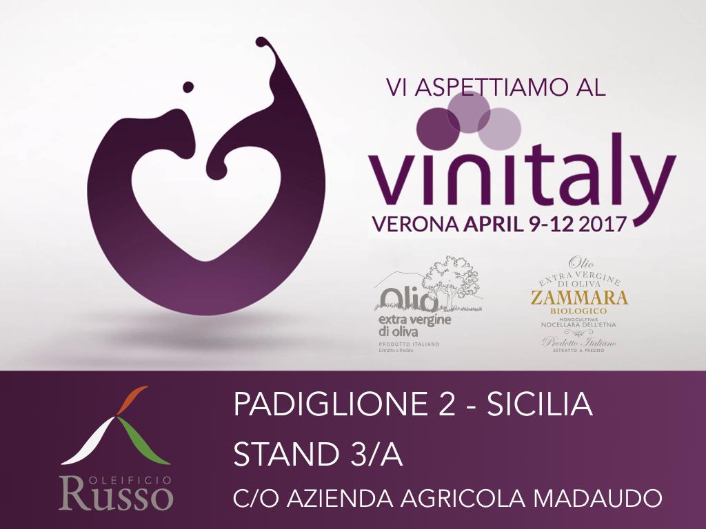 Oleificio Russo all'edizione della fiera Vinitaly 2017