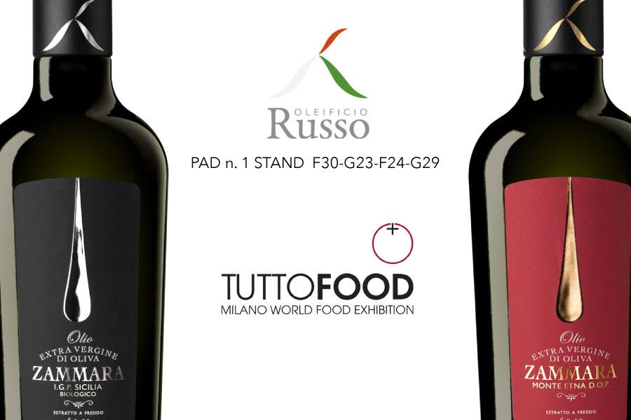 Oleificio Russo sbarca a Milano al  TUTTOFOOD 2019!